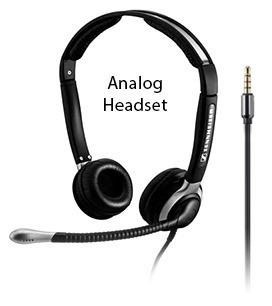 Analog Headset