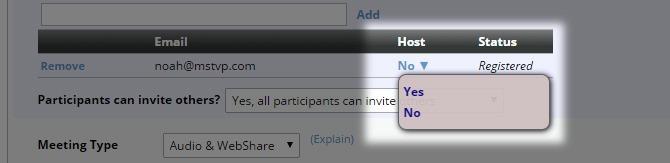 Assign Host