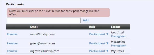 Create A Conference Adding Participants