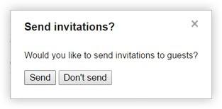 Google Calendar Send Invitations