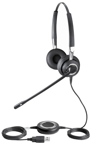 Earphones with mic bose - Jabra BIZ 2400 MS USB Headset Overview