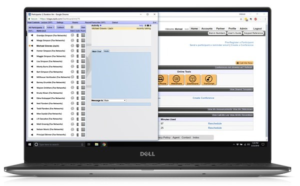 New Dashboard on Dell XPS