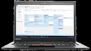 OutlookCalendar in Lenovo X-1-Carbon