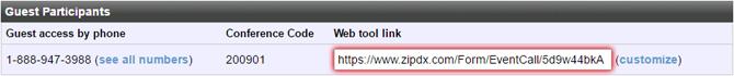 Verification Page Guest Generic Link